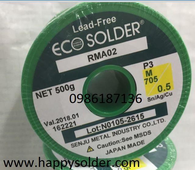 Thiếc hàn ECO solder phi 0,5mm