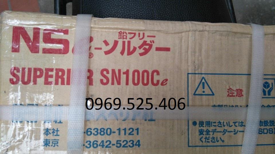 Thanh thiếc không chì SN100C