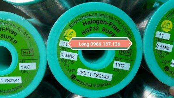 thiếc dây HSE11-HGF32 0.8mm